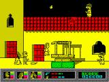 Mystery of the Nile ZX Spectrum All 3 characters are together now.