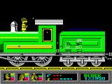 Mystery of the Nile ZX Spectrum In the fast moving locomotive.