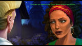 The Secret of Monkey Island: Special Edition Windows Talking to Carla, the sword master.
