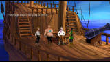 The Secret of Monkey Island: Special Edition Windows On deck of your ship.