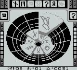 Stargate Game Boy Battle Mode moves cleared tiles to your opponent's side, adding to the challenge.