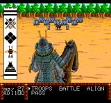Lords of the Rising Sun TurboGrafx CD Preparing for battle!