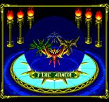 Lords of Thunder TurboGrafx CD Choosing your armor (actually, more like choose your weapon)