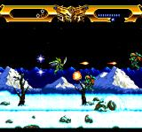 Lords of Thunder TurboGrafx CD Snowy level