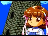 Madō Monogatari I TurboGrafx CD Arle, the heroine