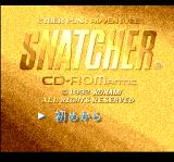 Snatcher TurboGrafx CD Title screen