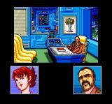 Snatcher TurboGrafx CD When several characters are having a conversation, their faces appear below
