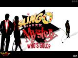 Slingo Mystery: Who's Gold? Windows Title screen