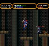 Valis IV TurboGrafx CD Jumping, avoiding the spears this guy throws