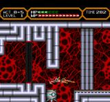 Valis IV TurboGrafx CD Here you need to use Yuko to slide. The robot can't do that