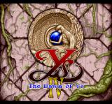 Ys IV: The Dawn of Ys TurboGrafx CD Title screen