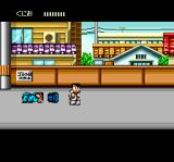 River City Ransom TurboGrafx CD Hey, I told you not to play with those barrels!