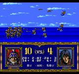 Warsong TurboGrafx CD Battle in the river!