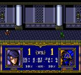 Warsong TurboGrafx CD That was a deadly battle... only one soldier stands in either unit!