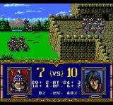 Warsong TurboGrafx CD Enemies are attacking the castle!