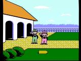 NES Open Tournament Golf NES Mario and Luigi leave the clubhouse for a round of golf