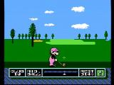 NES Open Tournament Golf NES Teeing off