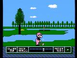 NES Open Tournament Golf NES You need to clear some water to reach the green