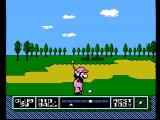 NES Open Tournament Golf NES A very large bunker...