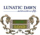 Lunatic Dawn FX PC-FX Title screen