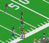 Sports Illustrated Championship Football & Baseball SNES Sometimes the game camera zooms in on a play