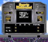 Sports Illustrated Championship Football & Baseball SNES Scoreboard