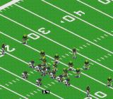 Sports Illustrated Championship Football & Baseball SNES On offense