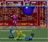 Teenage Mutant Ninja Turtles: Turtles in Time SNES The game is placed in Manhattan.