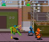 Teenage Mutant Ninja Turtles: Turtles in Time SNES There are over 20 different moves for each turtle.