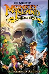 The Secret of Monkey Island: Special Edition iPhone Title Screen