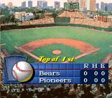 Roger Clemens' MVP Baseball SNES The start of the game