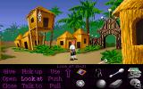 The Secret of Monkey Island DOS Enhanced version of Monkey Island: look at the menu
