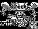 Hook Game Boy Game Boy version title screen