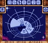 Stargate Game Gear All tiles have two sides, and can be flipped with the 1 button.
