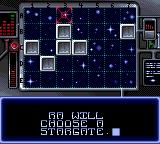 Stargate Game Gear Battle Mode adds some map conquest, decided by the victor of the puzzle game.