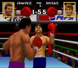 Chavez II SNES A flurry of punches can stun your opponent