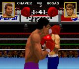 Chavez II SNES Throwing a punch
