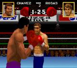 Chavez II SNES The opponent has cuts and bruises on his face