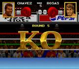 Chavez II SNES A round 5 knockout