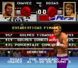 Chavez II SNES Total fight statistics