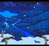 Seiya Monogatari: Anearth Fantasy Stories TurboGrafx CD Snow is falling on the land...