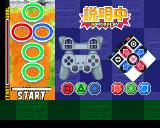 Bishi Bashi Special 3: Step Champ PlayStation Instructions for a mini-game. In this one you have to step on the right colored ring to win.