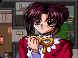 Marica: Shinjitsu no Sekai SEGA Saturn Marica in her house. During the (very long) conversations, you'll see those portraits hiding the background. There are no subtitles
