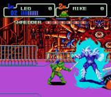 Teenage Mutant Ninja Turtles: The Hyperstone Heist Genesis the key to defeating him is to wait for when he turns blue..