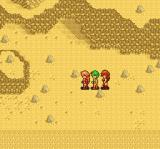 Princess Minerva TurboGrafx CD Walking through the desert on the world map