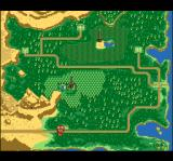 Princess Minerva TurboGrafx CD Very handy - overview map!