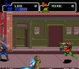 Teenage Mutant Ninja Turtles: The HyperStone Heist Genesis ..and moving on the streets.