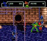 Teenage Mutant Ninja Turtles: The HyperStone Heist Genesis Leonardo starting in the sewers..