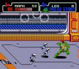 Teenage Mutant Ninja Turtles: The Hyperstone Heist Genesis Raphael vs mousers..