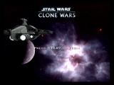 Star Wars: The Clone Wars GameCube Title screen